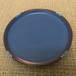 *NWOT* Dansk Mesa Sky blue circle serving dish